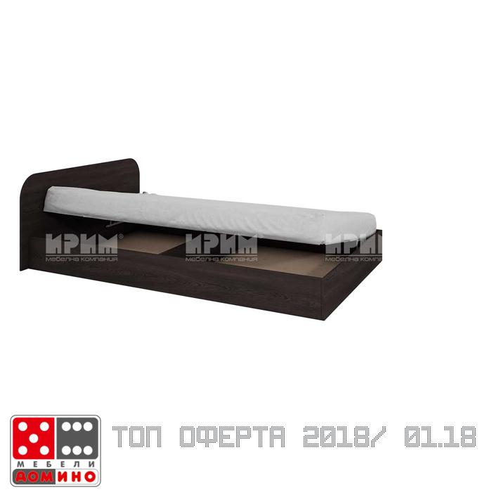 Единично легло Сити 281 От Мебели Домино