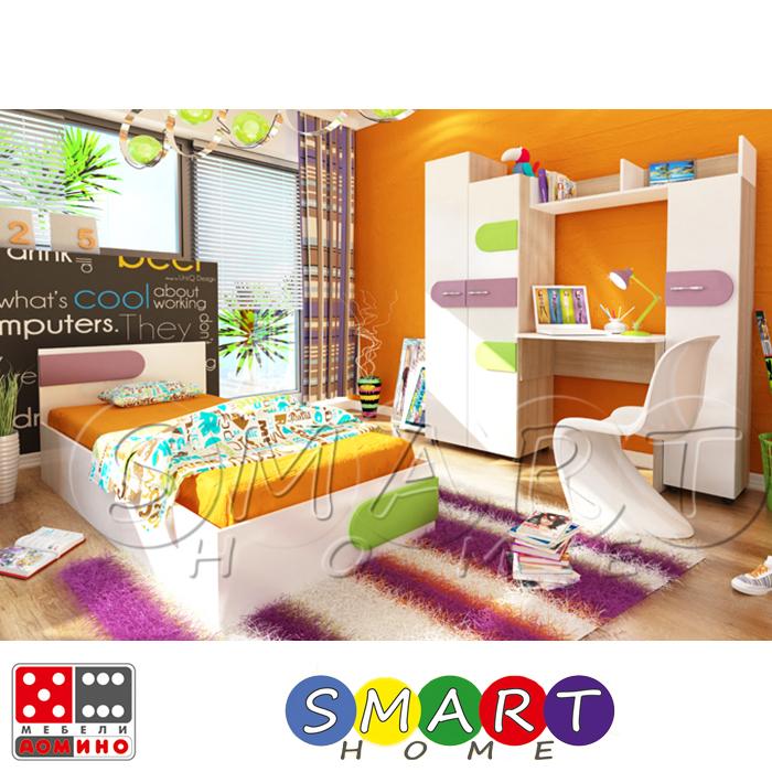 Детска стая Скай  От Мебели Домино
