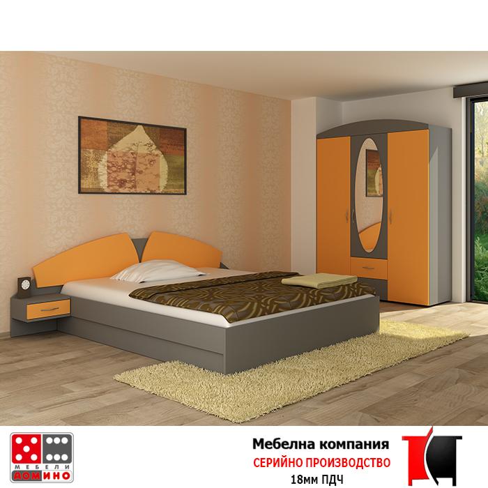 Спално обзавеждане Алпи От Мебели Домино