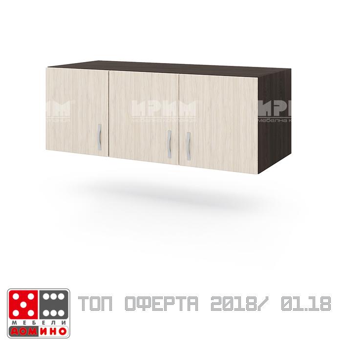 Надстройка за гардероб Сити 12 От Мебели Домино