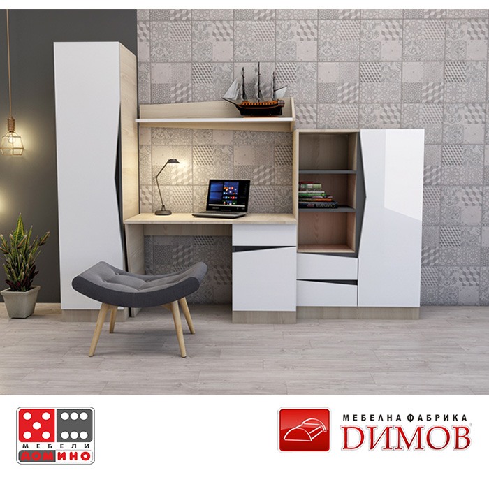 Модул Дамяна А-B18 скрин От Мебели Домино