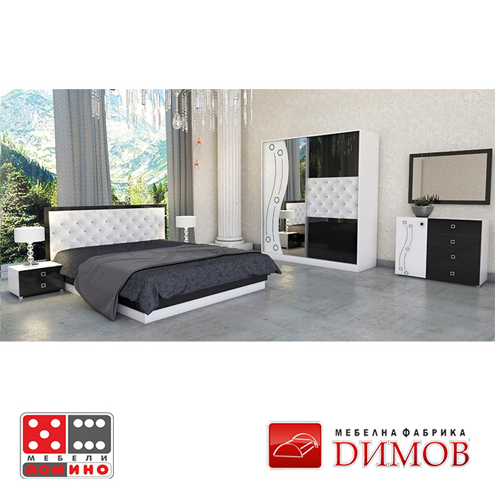 Конфигурация 6 за спалня Дамяна От Мебели Домино