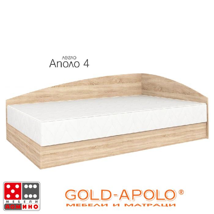 Легло Аполо 4 От Мебели Домино