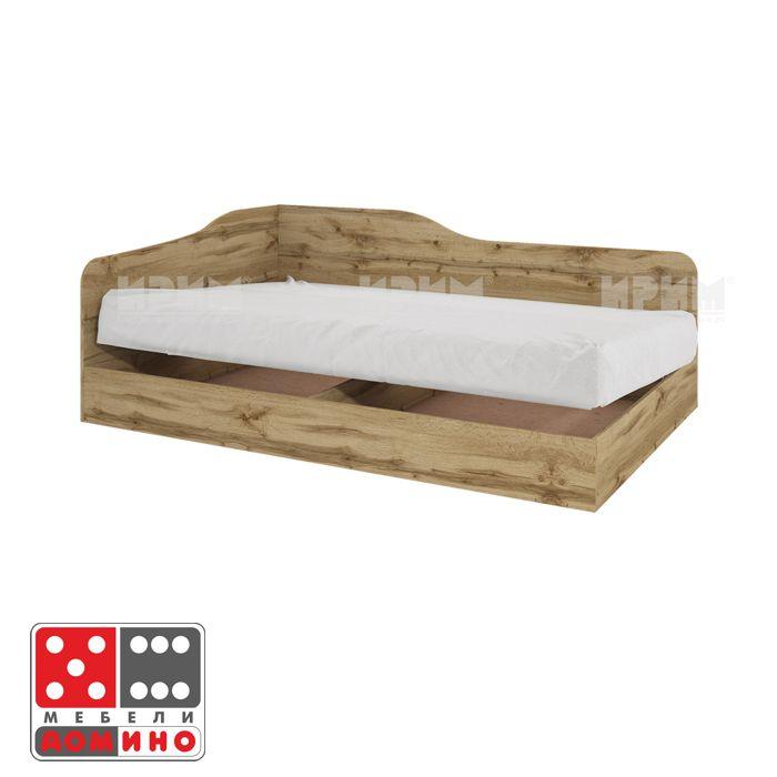 Единично легло Сити 173 От Мебели Домино