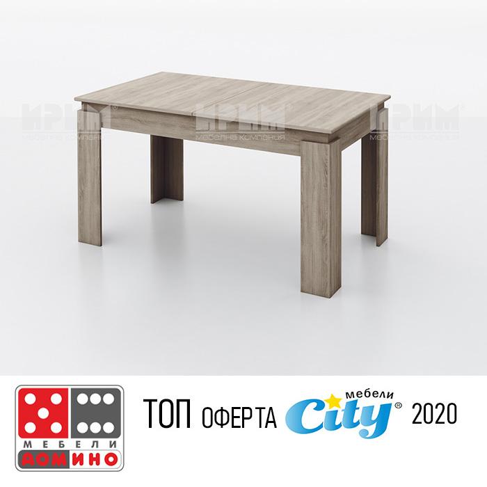 Трапезна маса Сити 379 От Мебели Домино