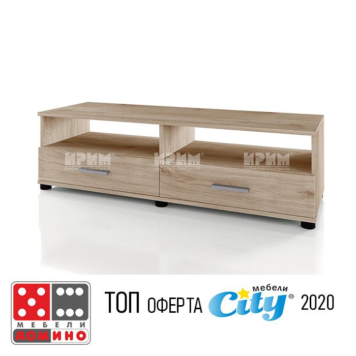 ТВ шкаф модул Сити 341 От Мебели Домино