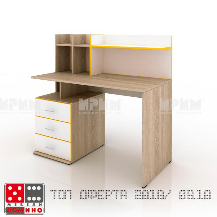 Шкаф с витрина Сити 358 От Мебели Домино