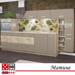 Кухня по проект Амандина От Мебели Домино