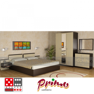 Спален комплект Примо 101 От Мебели Домино
