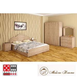 Легло Спалня Тива От Мебели Домино