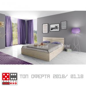 Легло спалня Сити 2008 От Мебели Домино