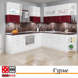 Кухня по проект Папая От