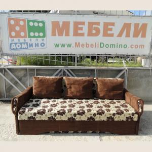 Разтегателен диван Анелия с подръчници От Мебели Домино