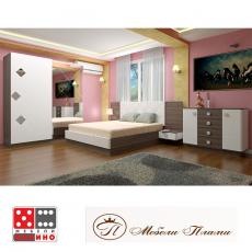 Спалня Патриция От Мебели Домино