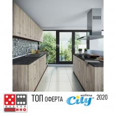Кухня Сити 233 / Сити 460 От Мебели Домино