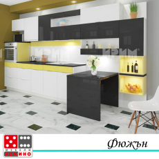 Кухня по проект Анона От Мебели Домино