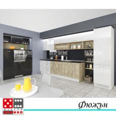 Кухня по проект Клементина От Мебели Домино