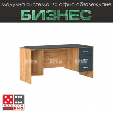 Офис бюро с метални крака Стил М47 От Мебели Домино