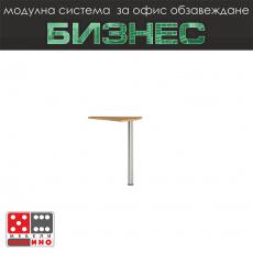 Офис бюро с метални крака Стил Модул 51 От Мебели Домино
