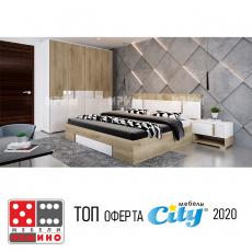 Спален комплект Сити 7020 От Мебели Домино