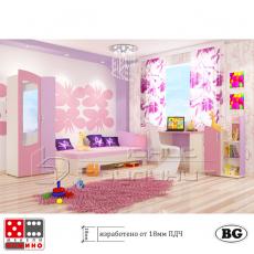 Детска стая Алиса От Мебели Домино