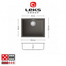 Кухненска мивка Серия PREMIUM SG-AG 86.1 BR19 От Мебели Домино