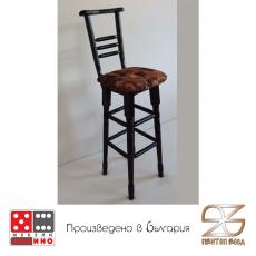 Бар стол с облегалка От Мебели Домино