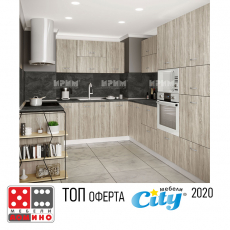 Кухня Сити 458 От Мебели Домино