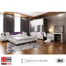 Спално обзавеждане Казабланка От Мебели Домино