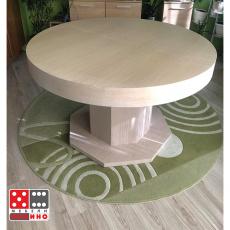 Кухненска маса Лазур + стъкло От Мебели Домино