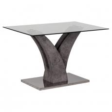 Кухненска маса Хармония + стъкло От Мебели Домино