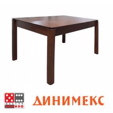 Кухненска маса Ларго + стъкло От Мебели Домино