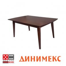 Холна маса Арена стъкло - Елипса От Мебели Домино