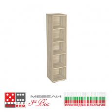 Етажерка Бяла 5.1 От Мебели Домино