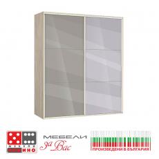 Еднокрилен гардероб Вено 1 От Мебели Домино