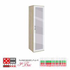Трикрилен гардероб Вено 3 От Мебели Домино