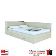 Легло приста с ракла и чекмеджета От