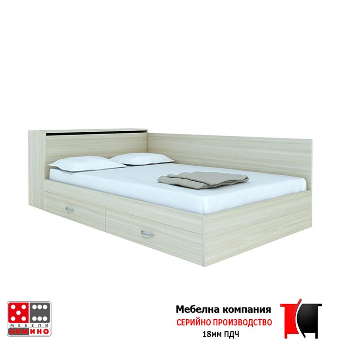 Легло приста с ракла и чекмеджета(4642005leglosraklan25)