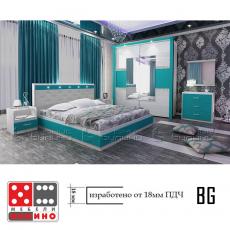 Спален комплект Римини От Мебели Домино