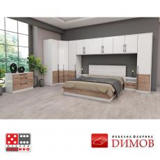 Модул Дамяна М 024 А надстройка за гардероб От Мебели Домино