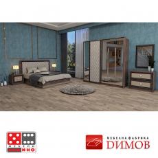 Конфигурация за спалня Дамяна 6 От Мебели Домино