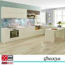 Кухня по  проект Маракуя От Мебели Домино