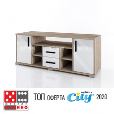ТВ шкаф Сити 6218 (Сико) От Мебели Домино