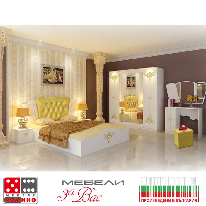 Спален комплект Виченца с LED осветление + ПОДАРЪК(3506005spalniaVichenca)