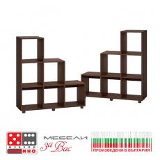 Етажерка Кубо 6 От Мебели Домино
