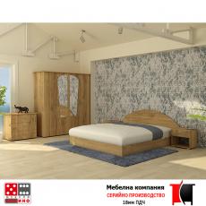 Спално обзавеждане Сияние От Мебели Домино