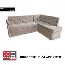 Кожен диван Eros-тройка с механизъм Релакс От
