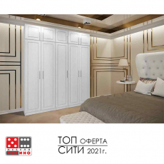 Метален шкаф Carmen CR-1242-1J От Мебели Домино