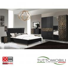 Италианска спалня Зафиро бяла От Мебели Домино