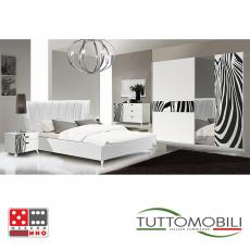 Италианска спалня Луиза gold/silver От Мебели Домино